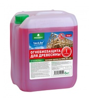 PROSEPT ОГНЕБИО PROF 1. Огнебиозащита для древесины, 1 группа.